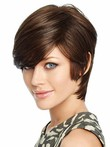 Perruque lace front lisse synthétique fabuleuse