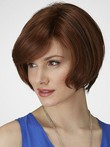Perruque mi-longue en vogue de style bob
