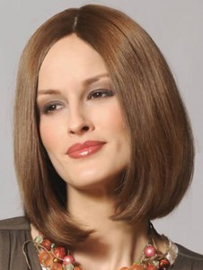 Perruque confortable synthétique lace front bob