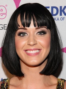 Perruque capless katy perry de style sexy synthétique