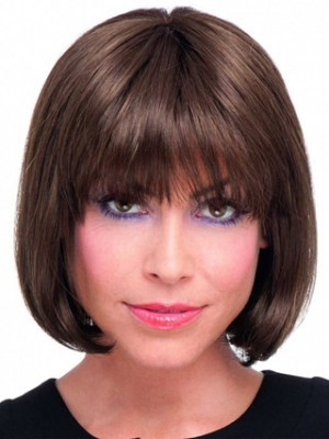 Perruque mi-longue de style bob lace front - Photo 1