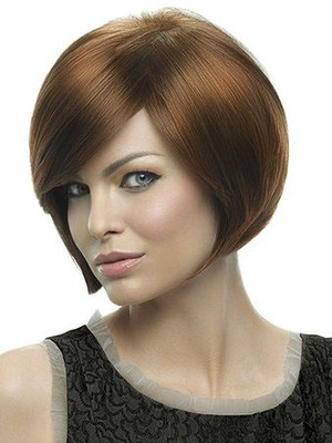 Perruque lisse attractive lace front de style bob - Photo 1