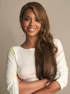 Perruque full lace beyonce ondulée de style longue - Photo 1