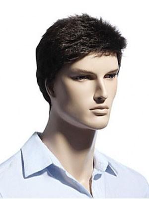 Achat perruque noire courte homme - 61% OFF