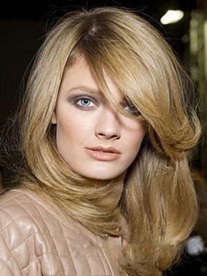 Perruque lace front cheveux natureles brillante lisse - Photo 1